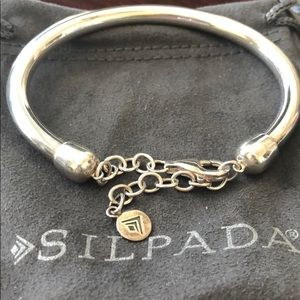 Silpada Sterling Silver Bangle Bracelet Cuff
